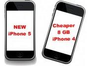 ¿Llegará un iPhone 4 económico de 8 GB?